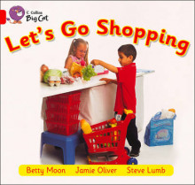 Collins Big Cat: Let's Go Shopping: Band 02B/Red B av Betty Moon (Heftet)