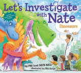 Omslag - Let's Investigate with Nate #3: Dinosaurs
