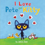 Omslag - Pete the Kitty: I Love Pete the Kitty