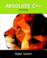 Omslag - Absolute C++ plus MyProgrammingLab with Pearson eText -- Access Card Package
