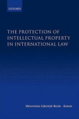 Omslag - The Protection of Intellectual Property in International Law