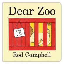 Dear Zoo Touch and Feel Book av Rod Campbell (Pappbok)
