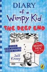 Omslag - Diary of a Wimpy Kid: The Deep End (Book 15)