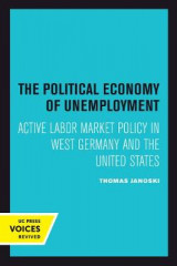 Omslag - The Political Economy of Unemployment