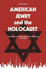 Omslag - American Jewry And The Holocaust