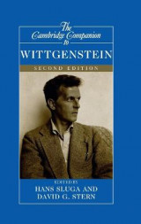 Omslag - The Cambridge Companion to Wittgenstein