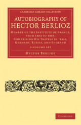 Omslag - Autobiography of Hector Berlioz 2 Volume Set
