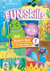 Fun Skills Level 1 Student's Book with Home Booklet and Downloadable Audio av Claire Medwell og Adam Scott (Blandet mediaprodukt)