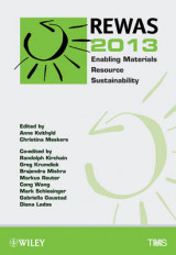 Omslag - REWAS 2013 Enabling Materials Resource Sustainability