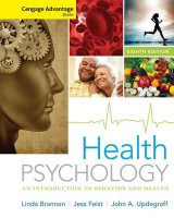 Omslag - Cengage Advantage Books: Health Psychology : an Introduction to Behavior and Health
