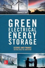 Omslag - Green Electrical Energy Storage: Science and Finance for Total Fossil Fuel Substitution