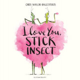 Omslag - I Love You, Stick Insect