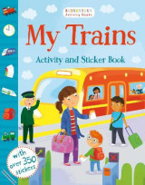Omslag - My Trains Activity and Sticker Book