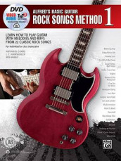 Alfred's Basic Guitar Rock Songs Method, Bk 1 av Nathaniel Gunod, L C Harnsberger og Ron Manus (Heftet)