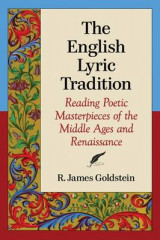 Omslag - The English Lyric Tradition