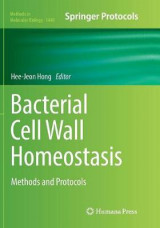 Omslag - Bacterial Cell Wall Homeostasis