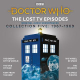 Omslag - Doctor Who: The Lost TV Episodes Collection Five