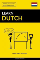 Omslag - Learn Dutch - Quick / Easy / Efficient