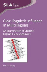Omslag - Crosslinguistic Influence in Multilinguals