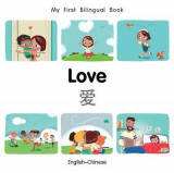 Omslag - My First Bilingual Book-Love (English-Chinese)