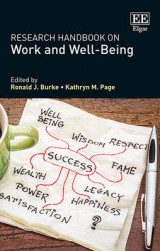 Omslag - Research Handbook on Work and Well-Being