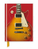 Omslag - Gibson Les Paul Guitar, Red (Foiled Journal)