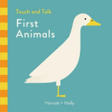 Omslag - Hannah + Holly Touch and Talk: First Animals