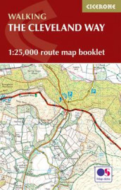 The Cleveland Way Map Booklet av Paddy Dillon (Heftet)