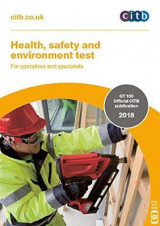 Omslag - Health, safety and environment test for operatives and specialists 2018