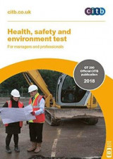 Omslag - Health, safety and environment test for managers and professionals 2018