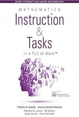 Omslag - Mathematics Instruction and Tasks in a PLC at Work (TM)