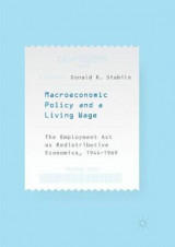Omslag - Macroeconomic Policy and a Living Wage