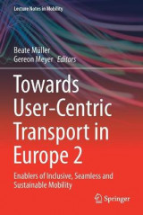 Omslag - Towards User-Centric Transport in Europe 2