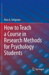 Omslag - How to Teach a Course in Research Methods for Psychology Students