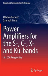Omslag - Power Amplifiers for the S-, C-, X- and Ku-Bands 2016