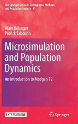 Omslag - Microsimulation and Population Dynamics 2017