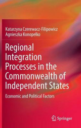 Omslag - Regional Integration Processes in the Commonwealth of Independent States