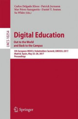Omslag - Digital Education: Out to the World and Back to the Campus 2017
