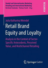 Omslag - Retail Brand Equity and Loyalty