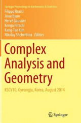 Omslag - Complex Analysis and Geometry