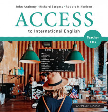Access to International English Teacher CDs (2017) av John Anthony, Richard Burgess og Robert Mikkelsen (Lydbok-CD)