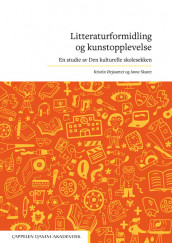 Omslag - Litteraturformidling og kunstopplevelse