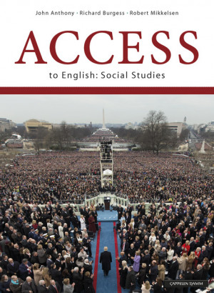 Bokomslag Access to English: Social Studies (2018). Unibok