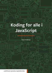 Omslag - Koding for alle i JavaScript