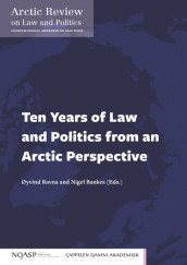 Omslag - Ten Years of Law and Politics from an Arctic Perspective