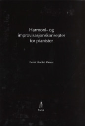 Omslag - Harmoni- og improvisasjonskonsepter for pianister