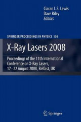 Omslag - X-Ray Lasers 2008